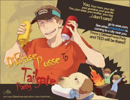 DiBiasePosse Tailgate Party by cooru58