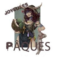 Joyeuses Paques 2015 by Sybarico