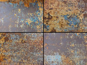 Texture Pack: Rust and Old Paint by ChimeraDragonfang