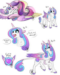 Princess Flurry Heart (Filly and Adult Headcanons) by BlueSideArts