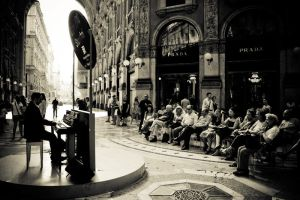 Classic Music In Milan by Xiaochan