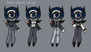 Outfit set - Chikage by hello-planet-chan