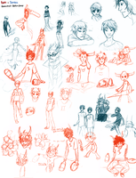 Homestuck Sketches by L0UDST