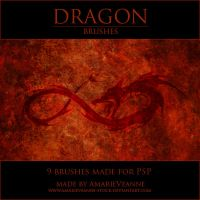 Dragons volume I PSP by AmarieVeanne-Stock