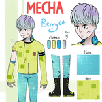 [CLOSED - TY!] Mecha Adopt Auction by Berry64-Adopts