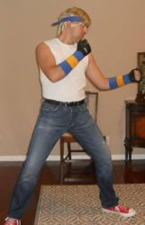 Axel Stone STREETS OF RAGE 1 cosplay by IronCobraAM