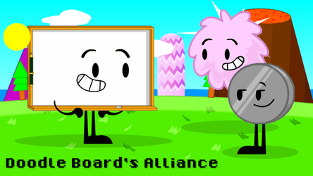 The Object Show - Doodle Board's Alliance by ethanbruceenterprise