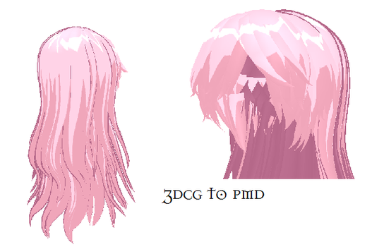MMD- Downy Hair-DOWNLOAD by MMDFakewings18