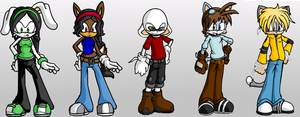 KND - Sonic Style by LeKitty