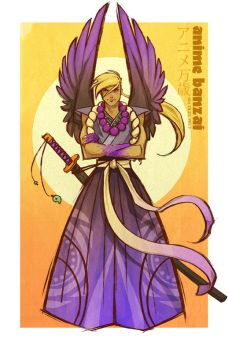 Japanese Mythology Guy by angerkitty