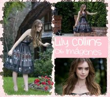 Photopack Lily Collins #1 by ShineLikeARune01