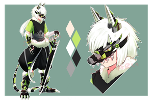 Adopt 16 : Wolf Armor Mark II | Close by I5HIMARU