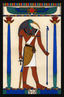 Thoth (study) by yoctoparsec