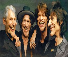 The Rolling Stones by wooden-horse