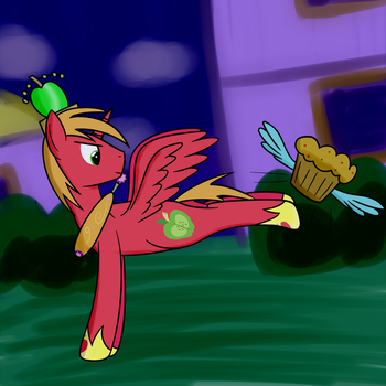 Quick Doodle - I'm a Bucking Princess by joeyh3