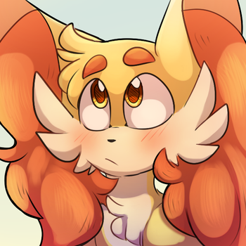 Erin the Fennekin by TeeterGlance