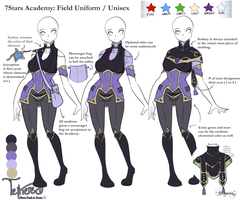 Academy Field Uniform by TetheredManga