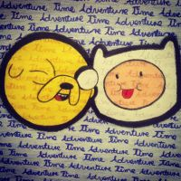Finn and Jake :) by Whiskers-the-Cat