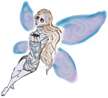 Graveyard Fairy by WhiteLedy