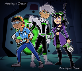 Danny Phantom 10 Years Later by Amethyst-Ocean