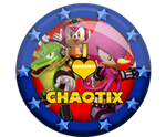 I Love Sonic Badges 2 by darkfailure