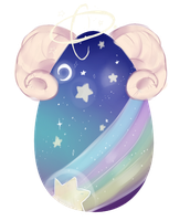 [CLOSED] Galaxy Ram Mystery Egg {AUCTION} by marilatte