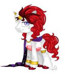 Royal Stallion 48 Hour Auction (closed) by mlpdarksparx