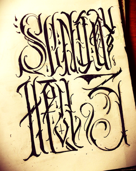 Sunday Hell 3 / Sketch 4 by Wator