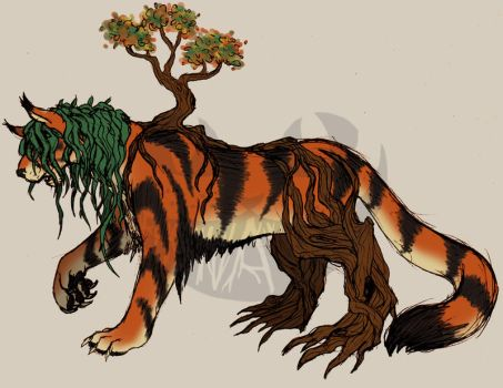 Adoptable: Forest God Auction [AVAILABLE] by Finnaverre