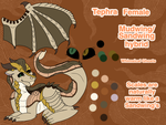 Tephra Ref Sheet by WhimsicalGhosts