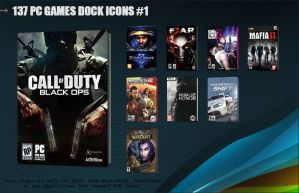 137 PC Games Dock Icons 1 by molobakk