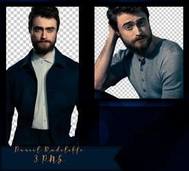 Daniel Radcliffe PNG PACK by NorthXrX