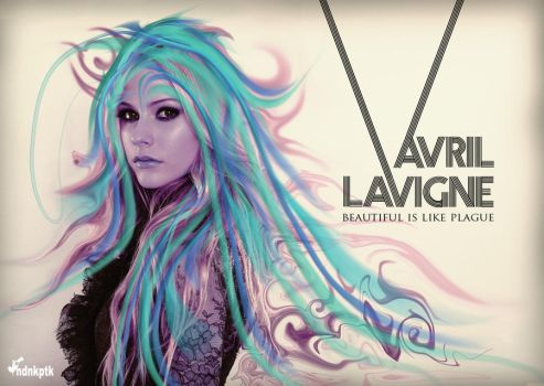 Avril Lavigne by kndnkptk