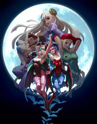 UDON Capcom Fighting Tribute - Aensland sisters by lucidsky