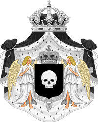Imperial Coat of Arms of Ixania by DestroAce1