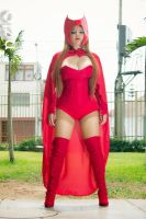 Scarlet Witch : lady in red by dashcosplay