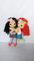 Curly Me Dolls by milliemouse579