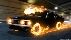 Hell Mustang by GothicGamerXIV