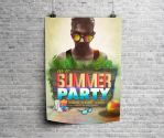 Free End of Summer Party Poster byDabbexsahi by dabbex30