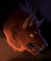 Headshot:. Rami (YCH) by Remarin