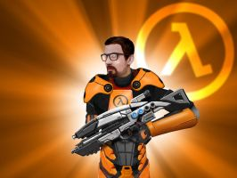 Gordon Freeman - Mark VI Scrap by EspionageDB7
