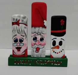 Christmas Decoration - Happy Faces by sweetpie2