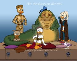 May the ducks be with you by TedJohansson