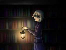 Midnight Library//Yume 2kki by soshi185