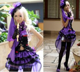 Sheryl Nome Carddass Master Cosplay by Lycorisa