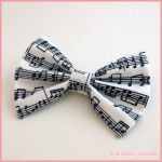 Music Note Bow by Strawberryserenade