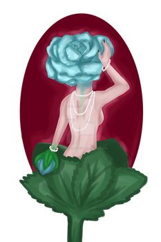 Pearls and Petals by BloodRedSilentSnow