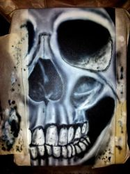 first Skull by TheMakeupArtist
