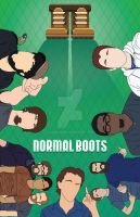 Final Illustration - The Guys of Normal Boots by EonMon