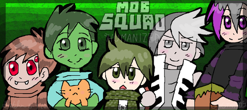 The Mob Squad humanized by GNGTNT105